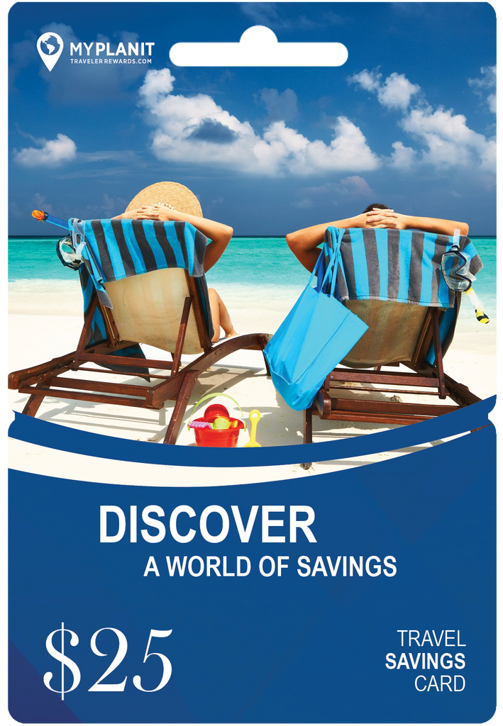 $25 Travel Savings Cards