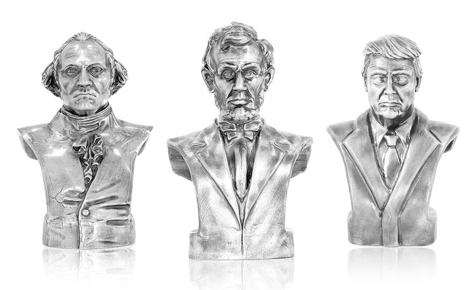 Presidential Silver Bust Collection