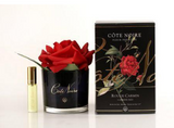 Perfumed Natural Touch Rose in Black