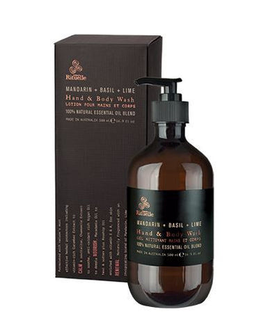 Equilibrium Hand & Body Wash (Mandarin, Basil, Lime)