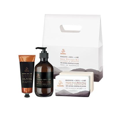 Equilibrium Skin Therapy Kit (Mandarin, Basil, Lime)