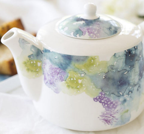 Floral Reef Teapot