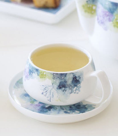 Floral Reef Cup & Saucer