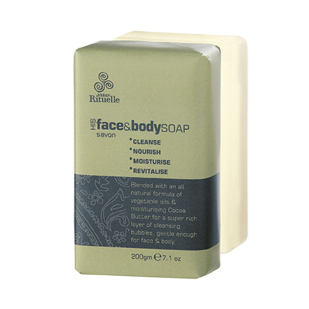 His Face & Body Soap
