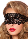 Masquerade Black Lace Mask