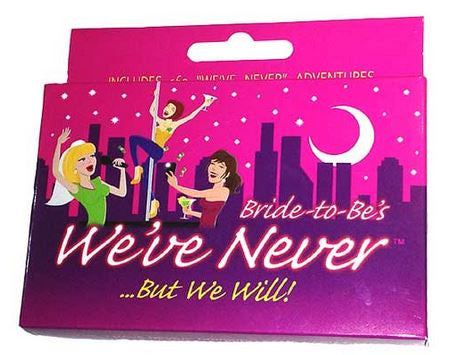 Bride to Be Never Cards