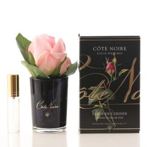 Perfumed Natural Touch Rose Bud in Black
