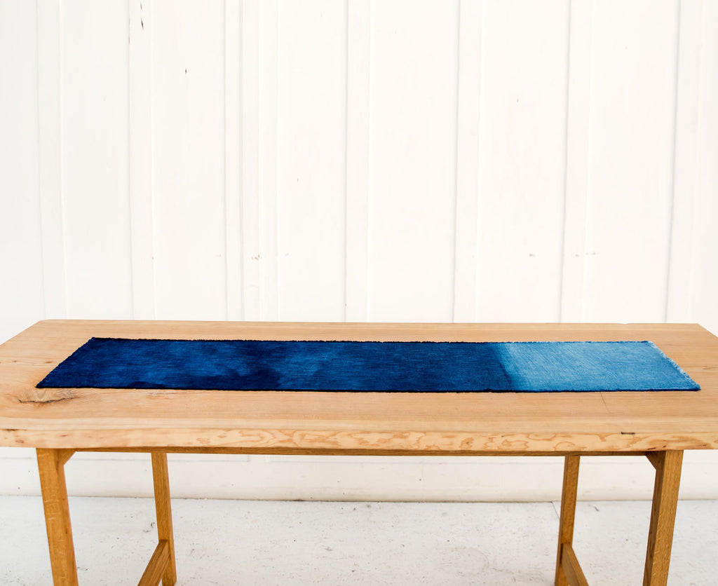 Chemin de Table Indigo