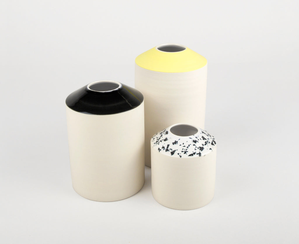 Graphic, Trio de Vases