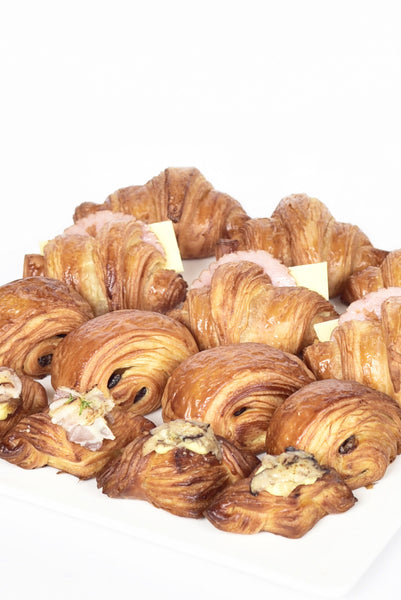Puff Pastries Tray - $54.00 for 18 pieces