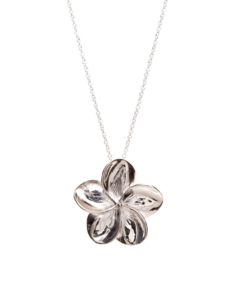 Frangipani - Pretty Silver Jill Manson Flower Collection