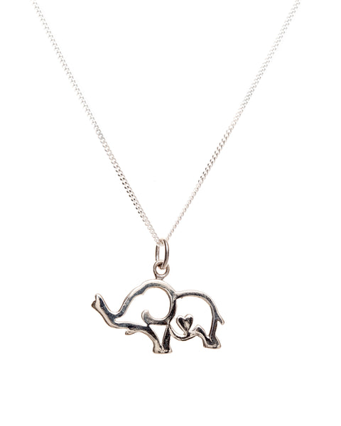 Elephant Love Pendant