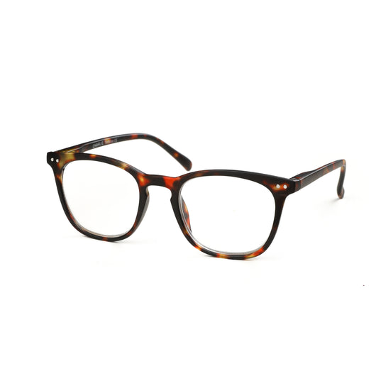 Captivated Eyewear Anti-Blue Reading Glasses - Charlie Tortoise Shell