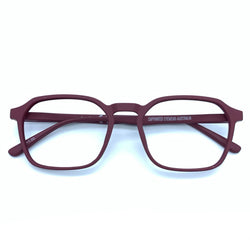 Captivated Eyewear Anti-Blue Reading Glasses - Ivan Maroon