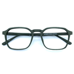 Captivated Eyewear Anti-Blue Reading Glasses - Ivan Green
