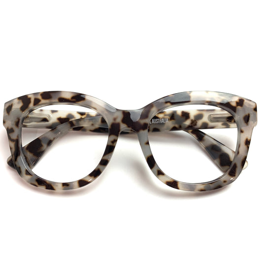 Captivated Eyewear SIGNATURE Anti-Blue Reading Glasses - Iris Tortoise Shell