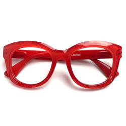 Captivated Eyewear SIGNATURE Anti-Blue Reading Glasses - Iris Red
