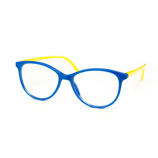 Captivated Eyewear Anti-Blue Reading Glasses - Zoe Blue