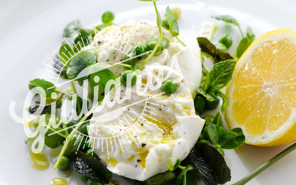 Giulianos Olive Oil - Peas Mint Mozzarella Recipe