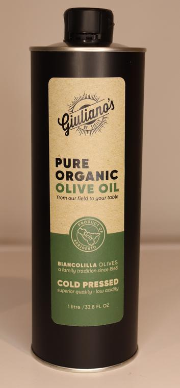 Giuliano's Extra Virgin Olive Oil - 1 LTR