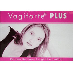 VAGIFORTE® Plus Tablets - Vaginal Probiotic Lactobacillus