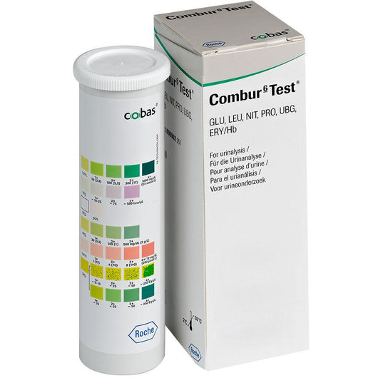 Urinary Test Strips - 50 strips Combur-Test 6®