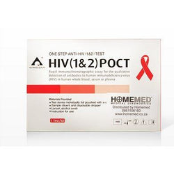 HIV Home Test: HIV 1 and 2 Single Test Kit - iKnow/Homemed