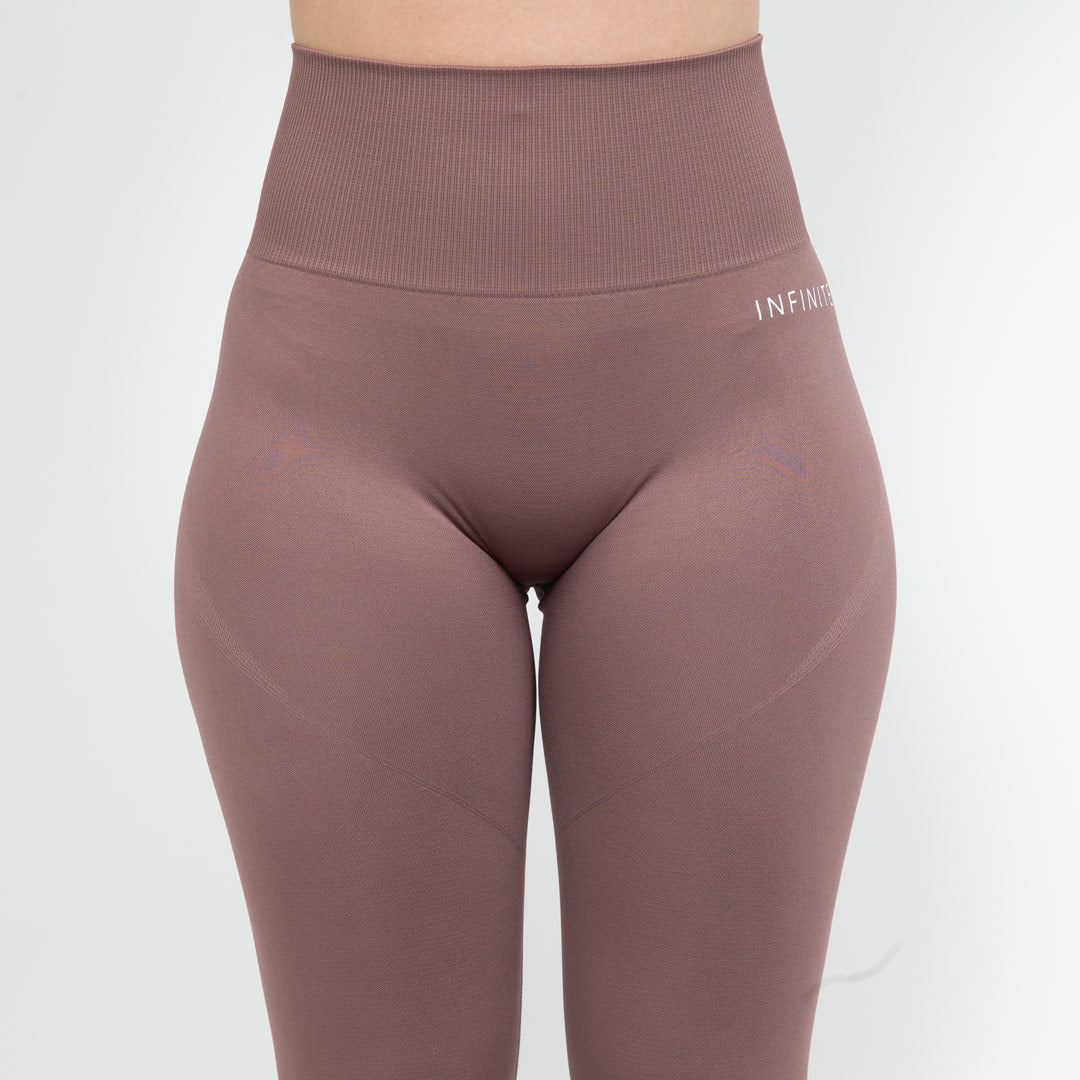 Beige Luminous Seamless Leggings