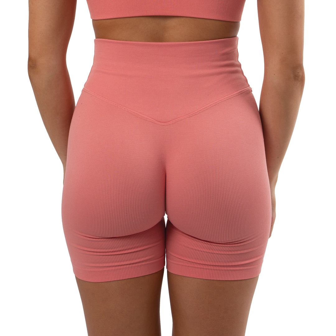 Phantom Seamless Biker Shorts Blush
