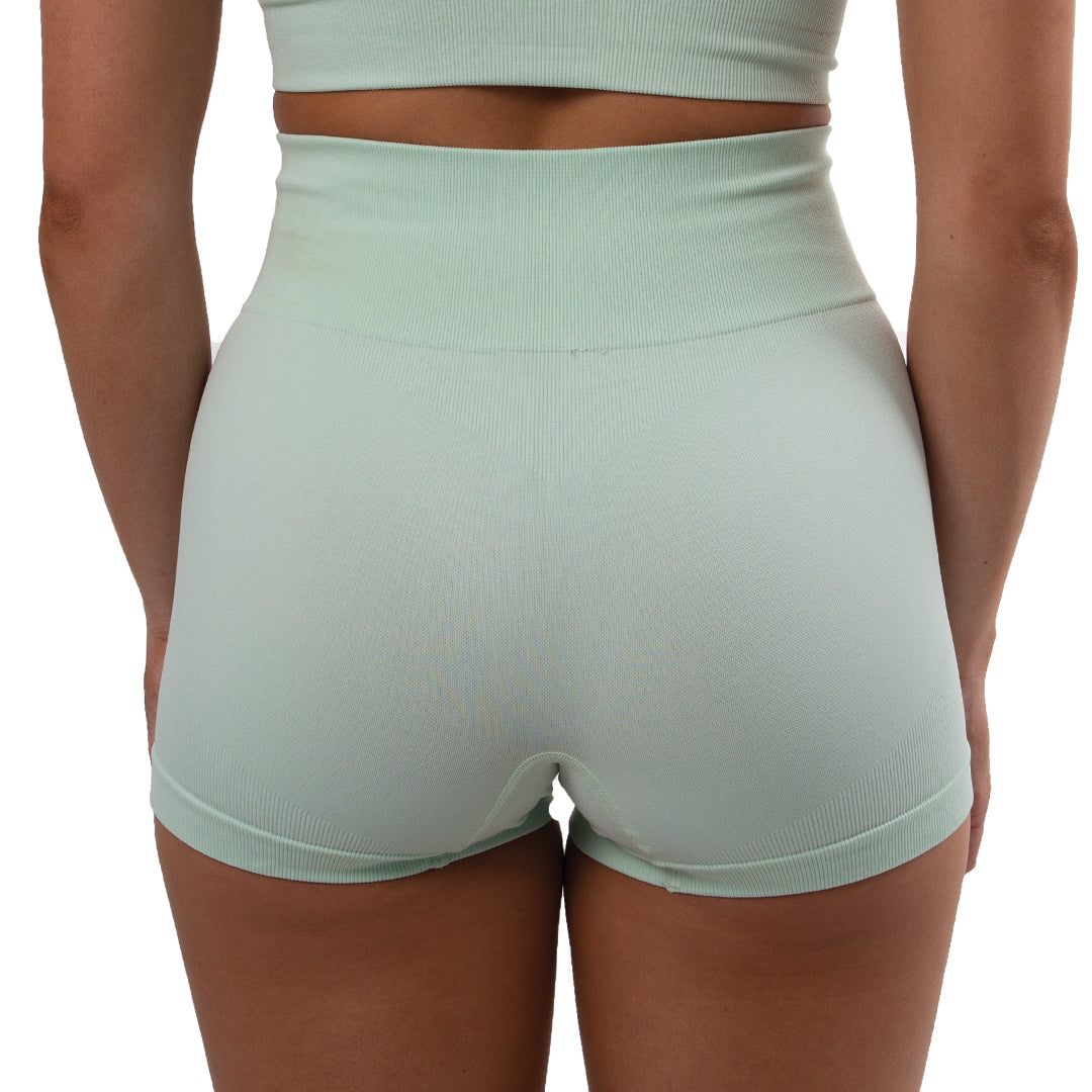 Ultra Seamless Booty Shorts Mint