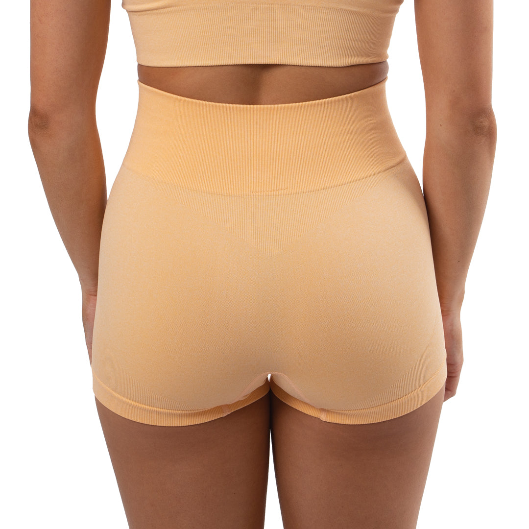 Ultra Seamless Booty Shorts Peach