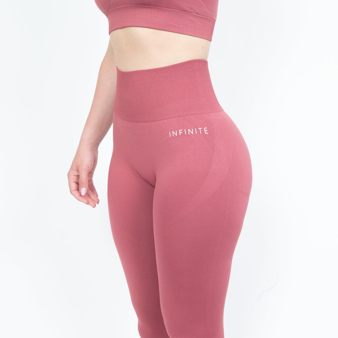 Pink Luminous Seamless Leggings