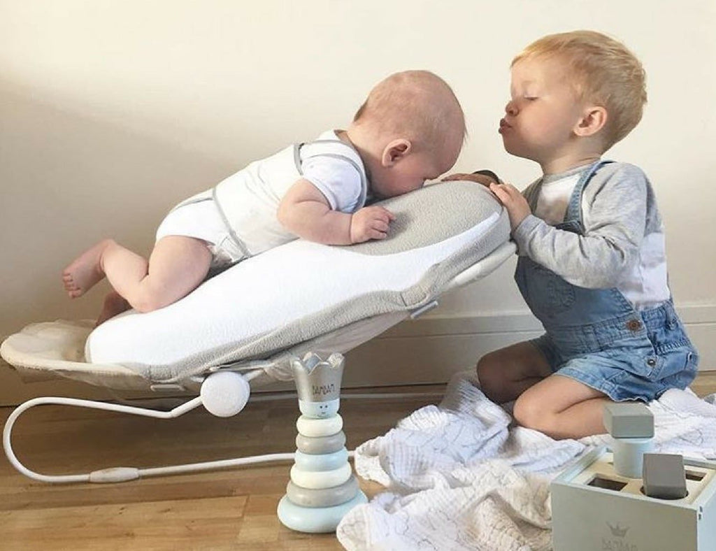 Why the babocush will be your best friend if you have a newborn and a toddler