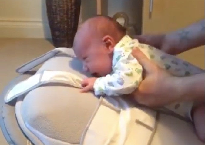 Watch Baby Riley Settle On His Babocush