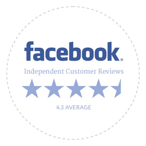 4.3 star average facebook reviews Babocush