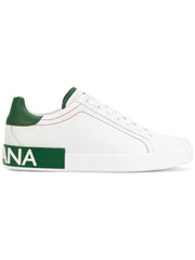 Roma Sneakers w/ Green Details