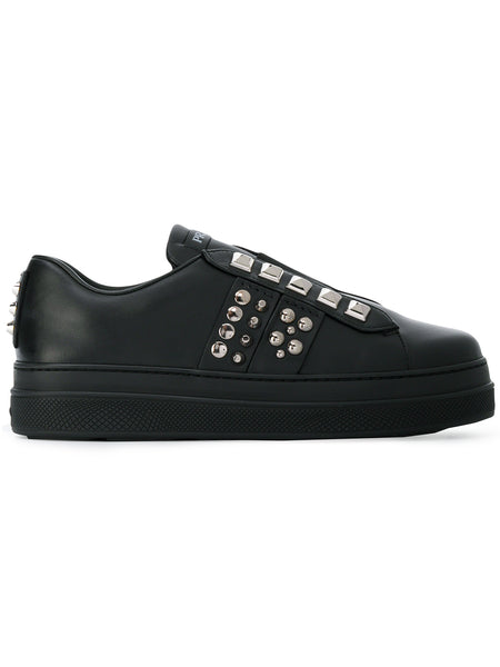 Studded Black Sneakers