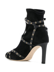 Brianna Leather Strap Boots