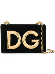 DG Millenials Black Shoulder Bag