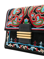 Embellished Multicolour Shoulder Bag