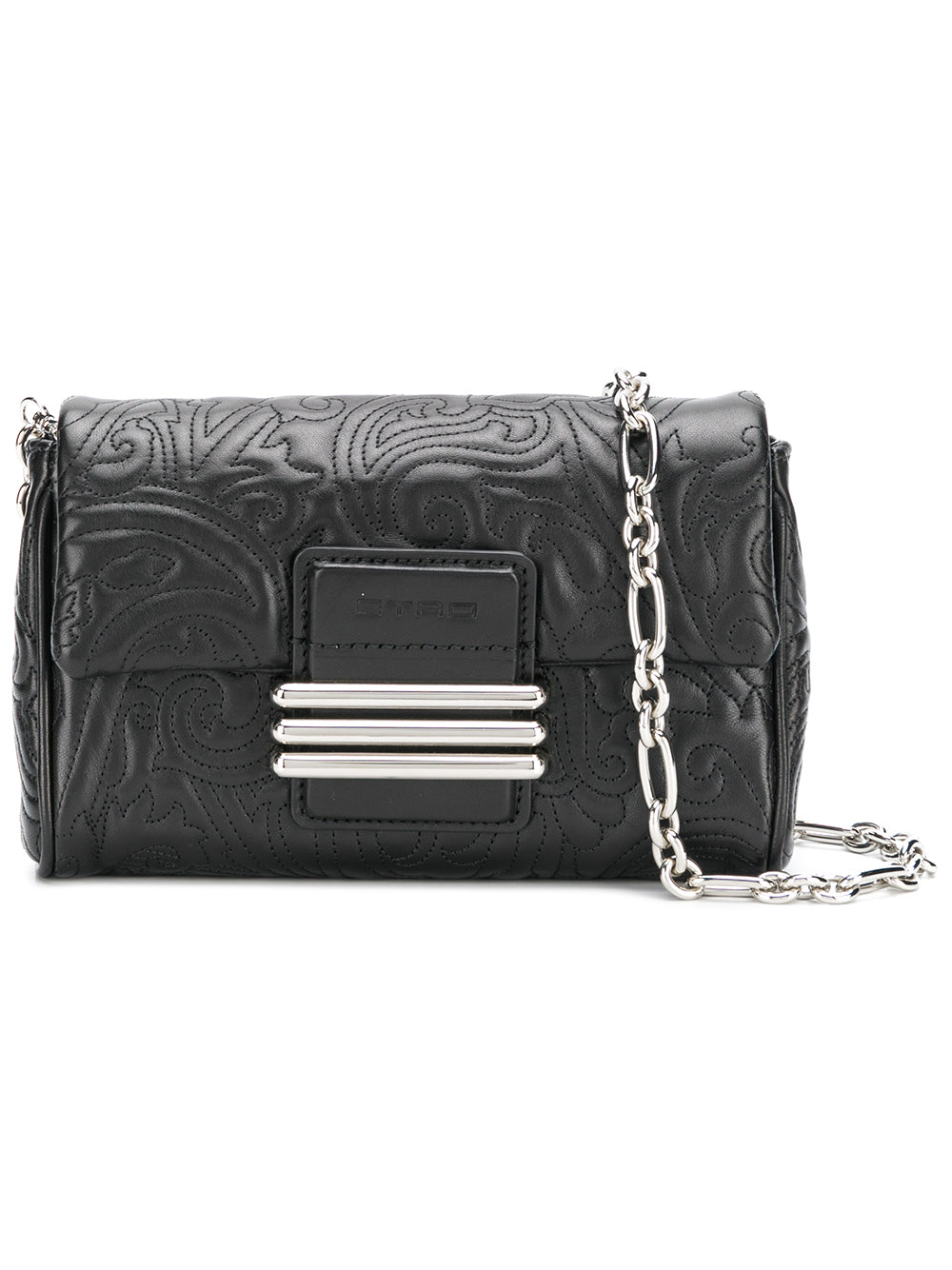 ba00e2b1981e Quilted Black Leather Clutch Bag – KultBoutique