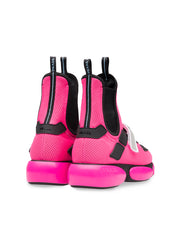 Cloudbust Pink High-Top Sneakers