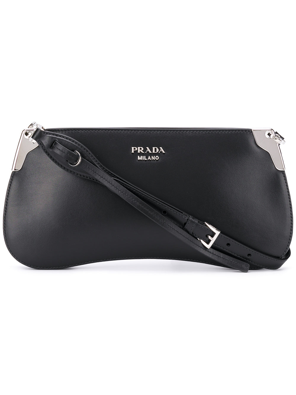 9d0198dac41a Sidione Black Leather Shoulder Bag – KultBoutique