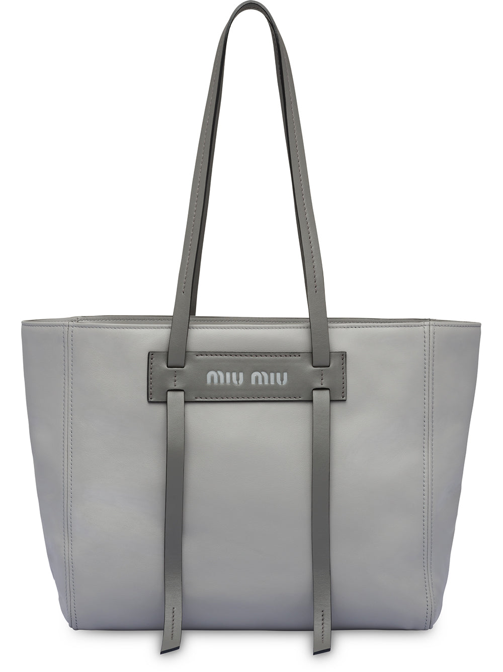 821417cfda64 Grace Lux Grey Leather Tote – KultBoutique
