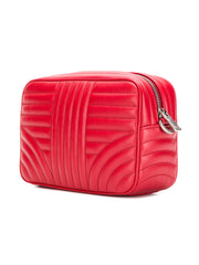 Red Leather Diagramme Bag