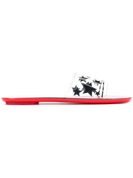 Red and Black Star Slides