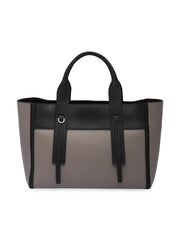 Prada Ouverture Grey Leather Bag