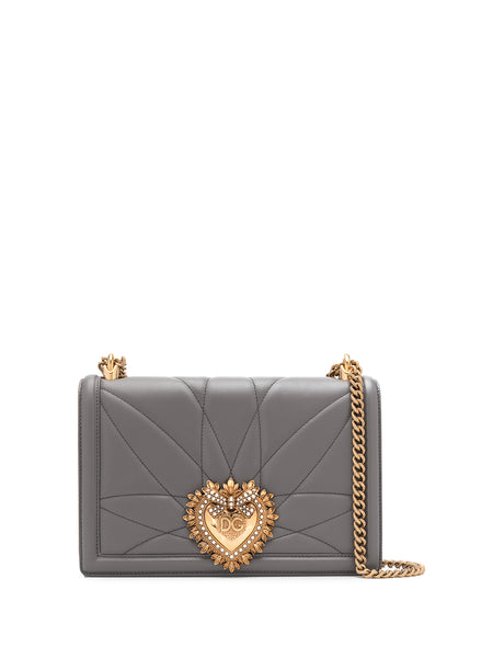 Dolce & Gabbana Grey Devotion Bag