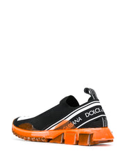 Sorrento Sneakers w/ Orange Neon Rubber Sole
