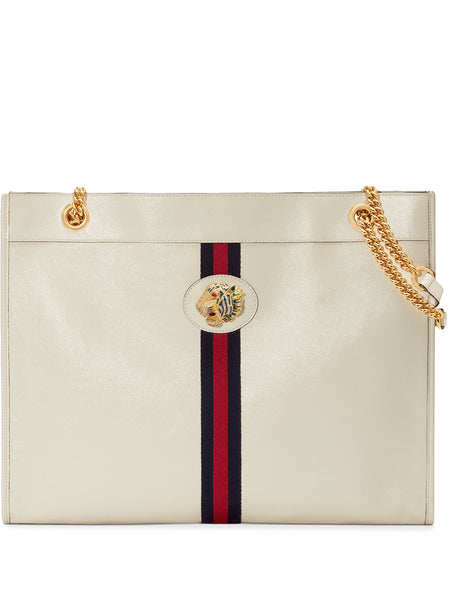 Gucci Rajah White Large Tote